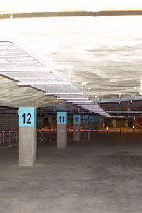 Underslab Insulation in carpark