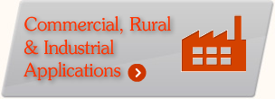Icon - link to information about the commercial, rural and industrial applications of spray foam insulation, including underslab, concrete slab and underfloor insulation