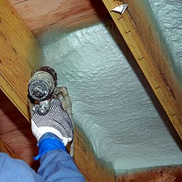 underfloor insulation with deep joists